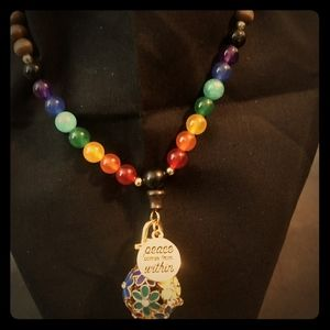 Meditation Beads with Essential Oil Diffuser